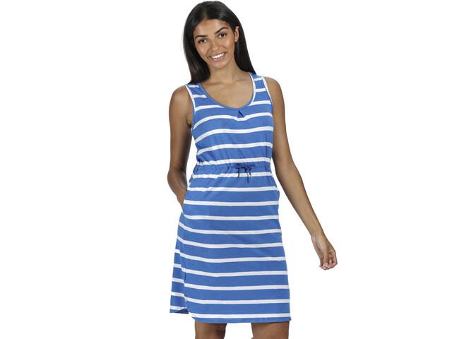 Regatta Felixia Vestido Mujer, strong blue stripe